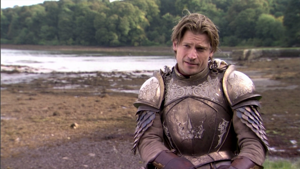 Nikolaj Coster-Waldau armor Game of Thrones Behind the Scenes