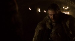 Game of Thrones Eddard Stark fur screencaps Sean Bean