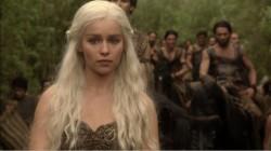 Game of Thrones Daenerys Targaryen Emilia Clarke horses pictures images