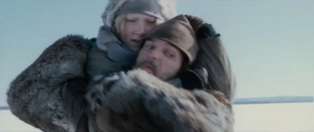 Saoirse Ronan Hanna Eric Bana Erik Heller snow fight Finland images photos screencaps