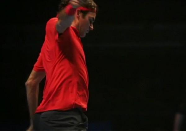 World Tour Finals tight bum ass Roger Federer screencaps images photos pics