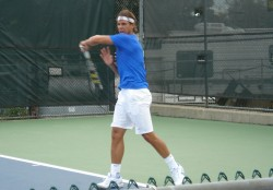 Rafa Nadal practice grunt images photos